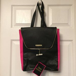 🆕JUICY COUTURE Faux Leather BackPack~BNWT~